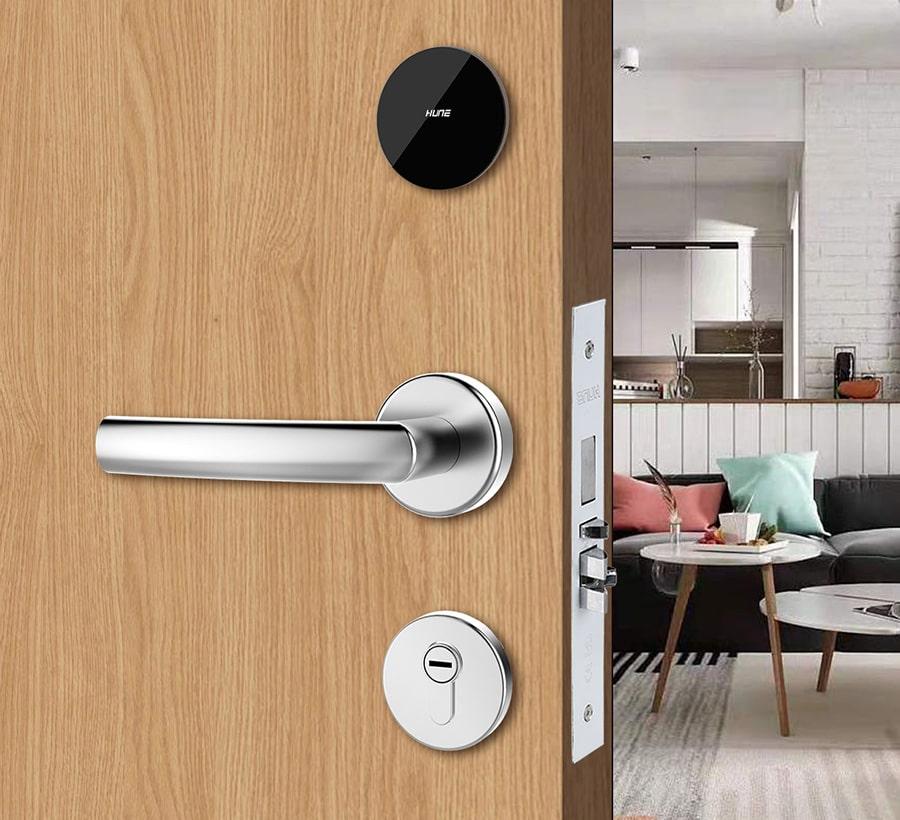 hotel room security door lock