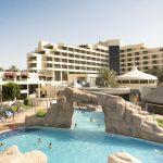 hotel door keycard system manufacturer HUNE Danat Al-Ain Resort