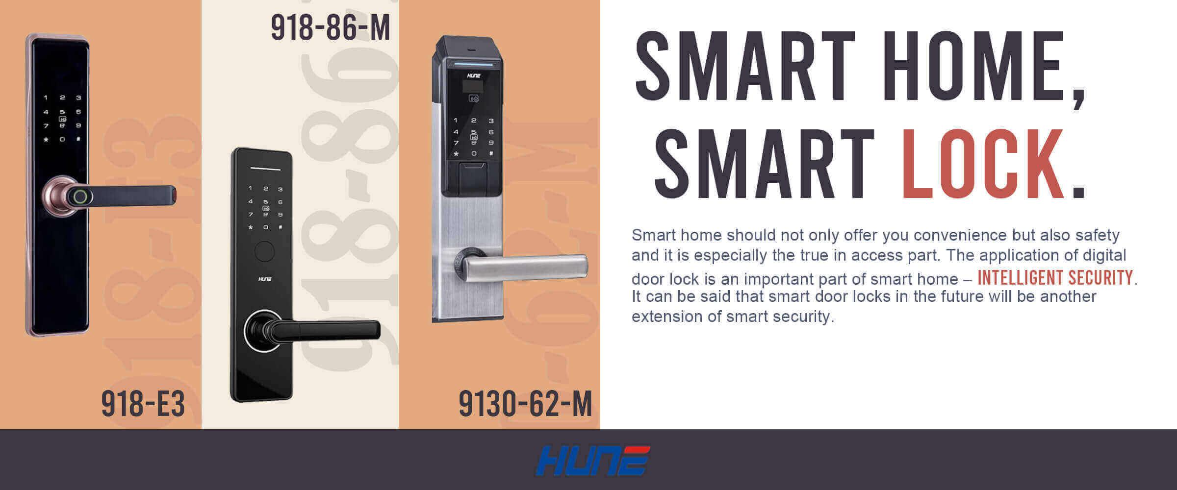 3 smart door locks