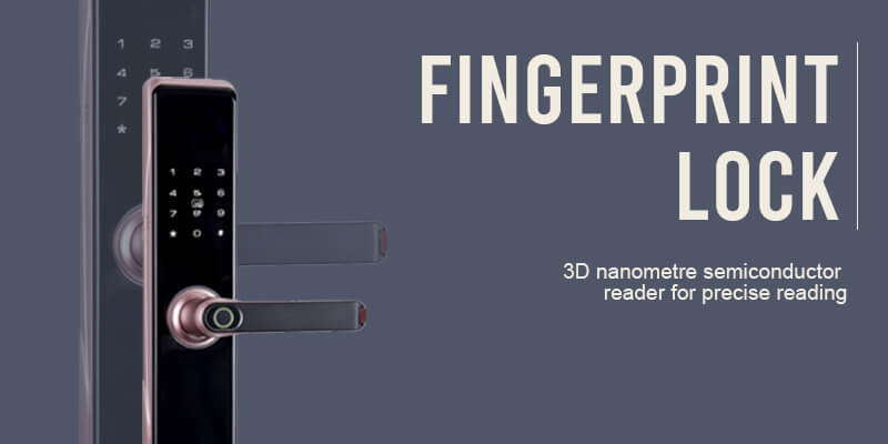 electronic door locks fingerprint lock