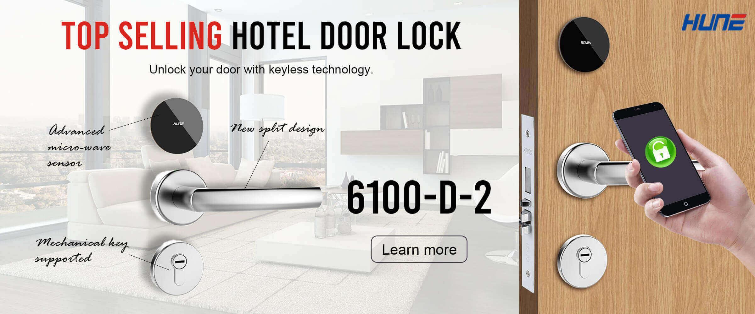 Top selling hotel door lock