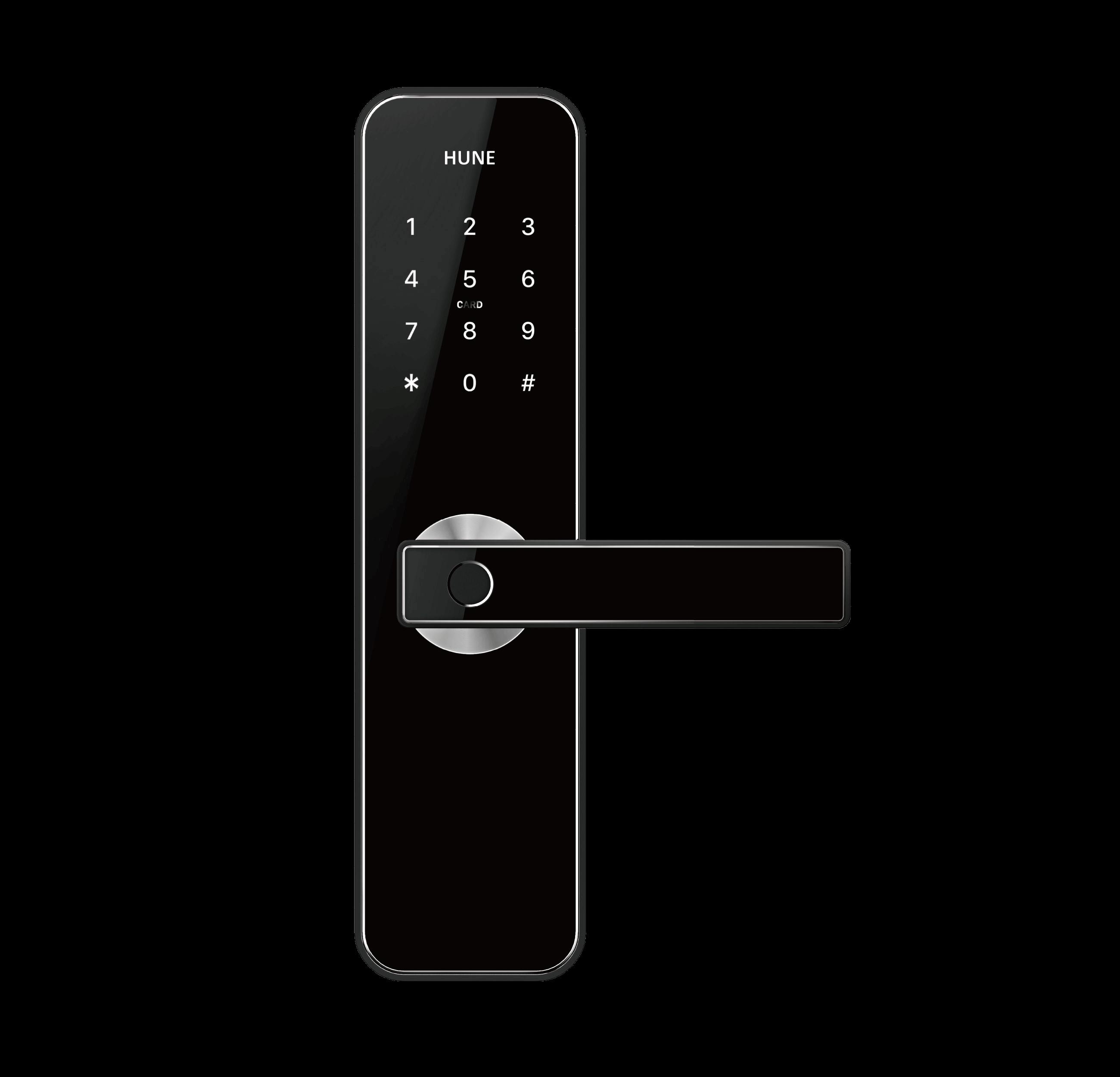 Hune H270 digital door lock for condo, apartment, residential, Airbnb etc.